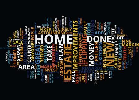 paysagiste: FIXEZ-LE, VOIEZ-VOUS, Contexte de texte Word Cloud Concept