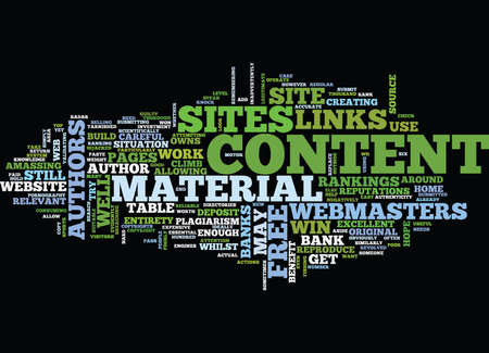 FREE WEB CONTENT Text Background Word Cloud Concept