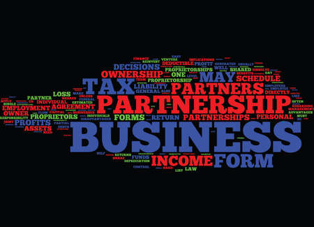 FORMS OF OWNERSHIP Text Background Word Cloud Concept