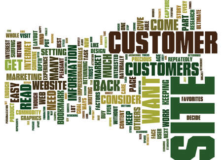 FIVE WAYS TO GET VISITORS TO BOOKMARK YOUR WEBSITE Text Background Word Cloud Concept