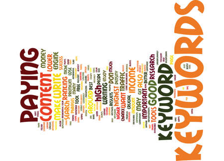 viable: GOOD KEYWORDS ARE CRUCIAL TO ADSENSE SUCCESS Text Background Word Cloud Concept