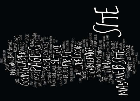 listings: FROM IDEA TO DESIGN Text Background Word Cloud Concept