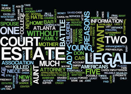 FIVE REASONS WHY I DON T HAVE A WILL Text Background Word Cloud Concept