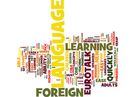 FIVE REASONS WHY YOU MUST GIVE EUROTALK A CHANCE Text Background Word Cloud Concept