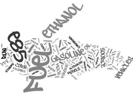 depending: FLEX FUEL WILL YOU BITE Text Background Word Cloud Concept