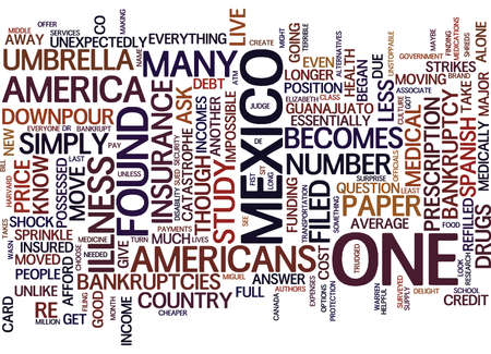 GOOD BYE AMERICA Text Background Word Cloud Concept