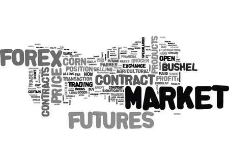FOREX OF FUTURES WAAR TE HANDELEN Tekst Achtergrond Word Cloud Concept Stockfoto - 82608726