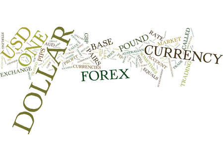 FOREX CURRENCY PAIRS Text Background Word Cloud Concept