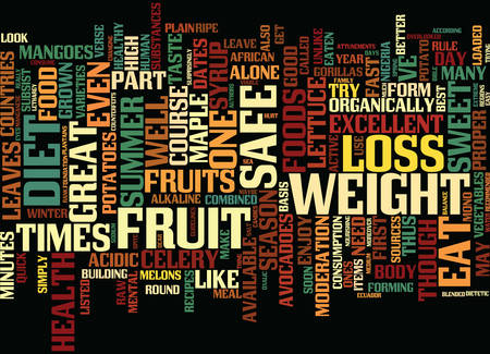 perishable: FOR A SAFE WEIGHT LOSS TRY THE GEN DIET PART Text Background Word Cloud Concept Illustration