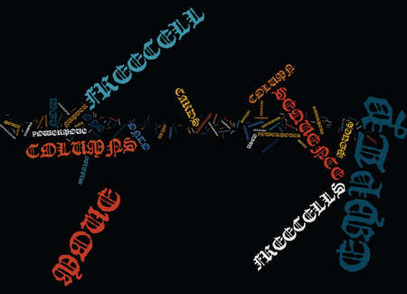 FREECELL SOLITAIRE POWER MOVES EXPLAINED Text Background Word Cloud Concept Illustration
