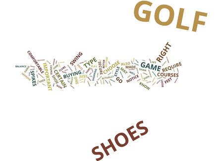 ゴルフ シューズ、ゴルフ ゲーム テキスト背景単語雲・概念を改善する方法