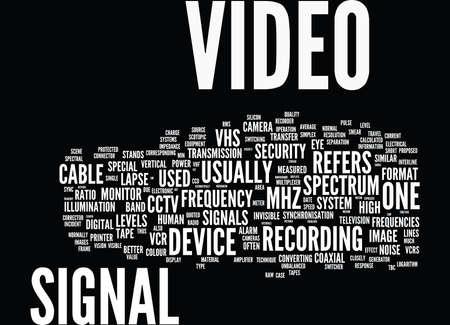GLOSSARY OF TERMS S Z CCTV Text Background Word Cloud Concept Ilustração
