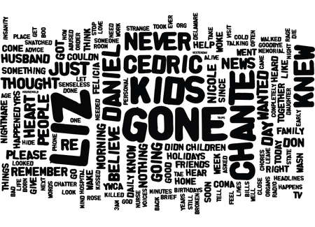 murdered: GONE TOO SOON KIDS MURDERED IN A SENSELESS RAGE Text Background Word Cloud Concept Illustration