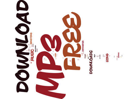 FREE MP KEYWORDS Text Background Word Cloud Concept