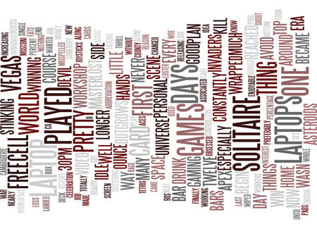 FREECELL MASTER OF THE UNIVERSE Text Background Word Cloud Concept