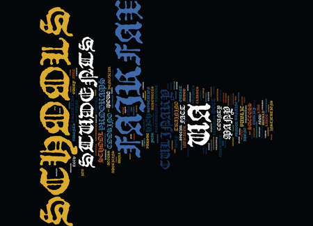 FOOD FOR THE MIND AND BODY IN THE FAIRFAX VA SCHOOLS Text Background Word Cloud Concept