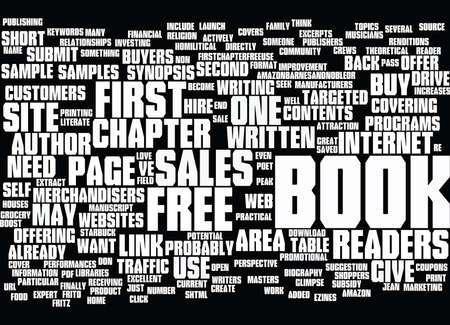 GIVE YOUR READERS A SAMPLE Text Background Word Cloud Concept