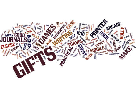 GIFTS FOR HIM Text Background Word Cloud Concept