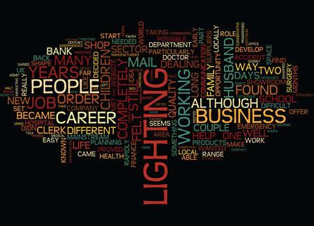 FROM BANK CLERK TO ENTREPRENUER Text Background Word Cloud Concept Ilustração