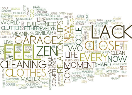 LACK LACK FILLS A GUNNY SACK Text Background Word Cloud Concept Illustration