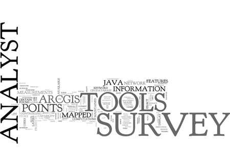 자바 설문 분석 도구 텍스트 배경 워드 클라우드 개념