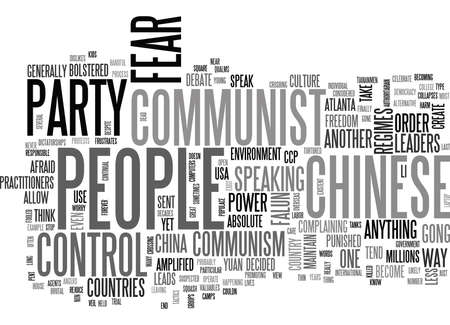 flaws: IS COMMUNISM DEAD YET Text Background Word Cloud Concept