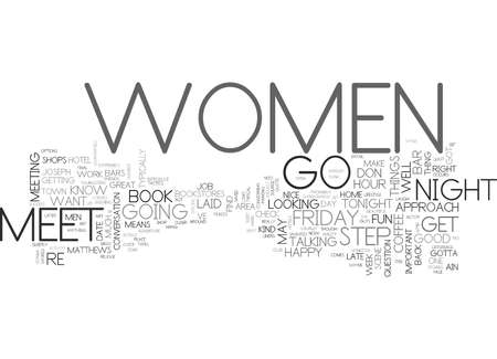 IT S FRIDAY DO YOU KNOW WHERE YOUR WOMEN ARE Text Background Word Cloud Concept Banco de Imagens - 82669056