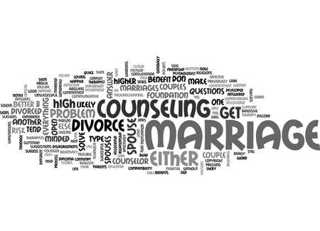 IS YOUR MARRIAGE AT HIGH RISK FOR DIVORCE Text Background Word Cloud Concept