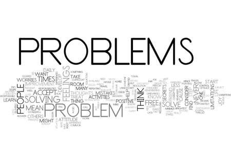 LERNEN SIE IHRE PROBLEME ZU LÖSEN Text Hintergrund Word Cloud Concept Standard-Bild - 82719370