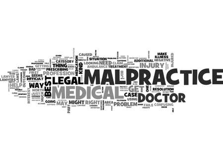 IS IT WORTH IT TO FILE A MALPRACTICE CLAIM Text Background Word Cloud Concept