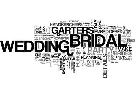 IT S THE DETAILS THAT COUNT RIGHT DOWN TO THE BRIDAL GARTERS Text Background Word Cloud Concept Illusztráció