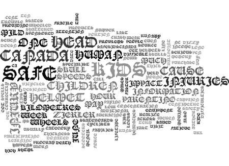 IT DOESN T TAKE MUCH FORCE TO CAUSE A HEAD INJURY Text Background Word Cloud Concept