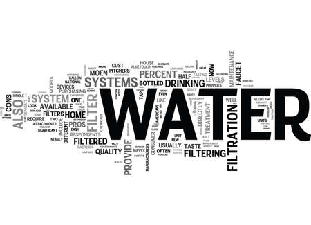 IT S NOT JUST WATER UNDER THE BRIDGE Text Background Word Cloud Concept Illustration