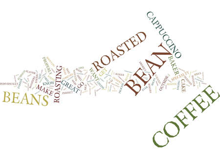 GREAT CAPPUCCINO Text Background Word Cloud Concept