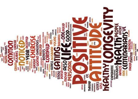 centenarian: Text Background Word Cloud Concept Illustration
