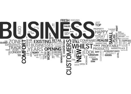 コンフォート ゾーンのテキスト背景単語クラウドのコンセプトでお客様のビジネスは、します。