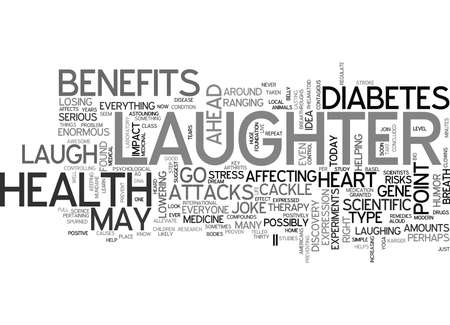IT S NO JOKE LAUGHTER IS AWESOME MEDICINE Text Background Word Cloud Concept Banco de Imagens - 82626087