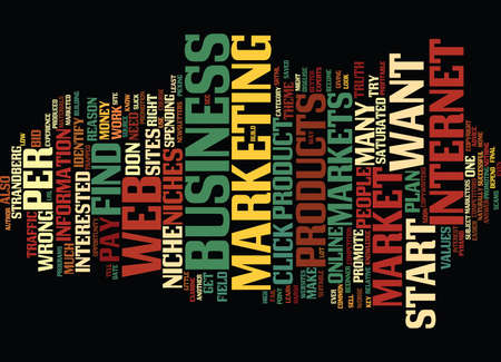 LEARN HOW TO IDENTIFY PROFITABLE WEB NICHES FOR YOUR BUSINESS Text Background Word Cloud Concept