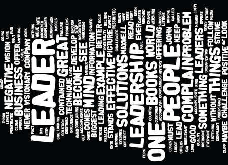 LEAD BY EXAMPLE Text Background Word Cloud Concept