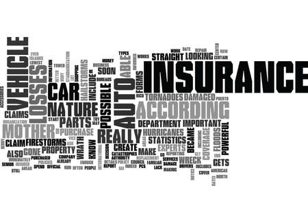 IS YOUR AUTO INSURANCE ENOUGH Text Background Word Cloud Concept