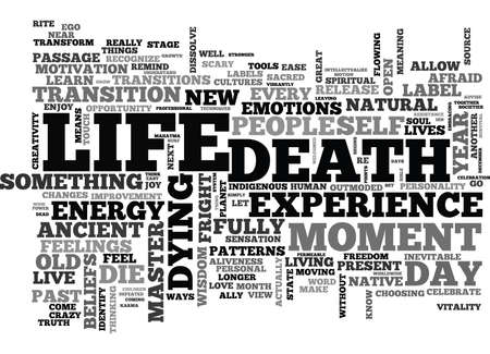 IT S A GREAT DAY TO DIE Text Background Word Cloud Concept