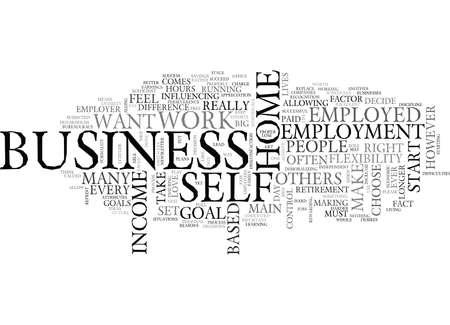 テキスト背景単語クラウドの概念はあなたのために右ホーム ビジネスをします。