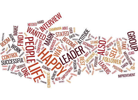LEARN TO BECOME A LEADER NOT A FOLLOWER Text Background Word Cloud Concept