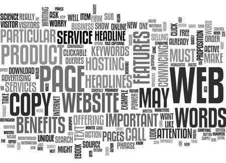 IS YOUR WEBSITE S COPY UP TO THE MARK Text Background Word Cloud Concept Illusztráció