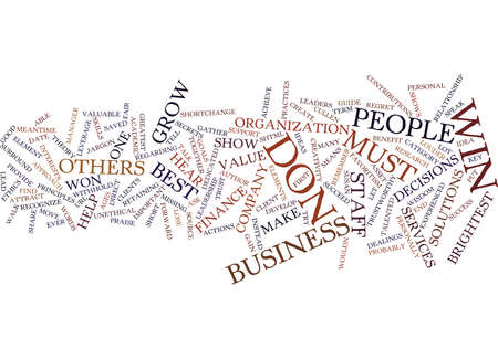 LEADERSHIP Text Background Word Cloud Concept