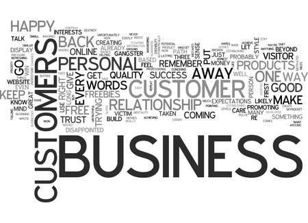 IT IS PERSONAL IT S BUSINESS Text Background Word Cloud Concept