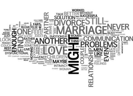 IS LOVE ENOUGH TO SAVE YOU FROM DIVORCE Text Background Word Cloud Concept