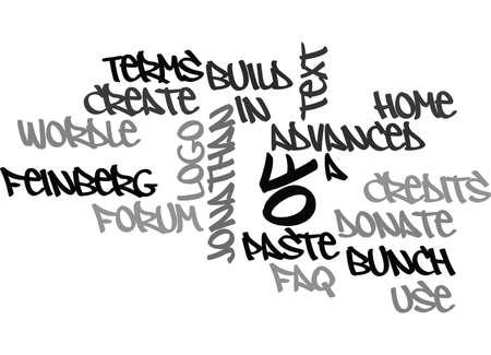 ある電子ブックあなたのテキスト背景単語雲概念