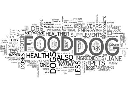 IS YOUR DOG MALNOURISHED Text Background Word Cloud Concept Illustration