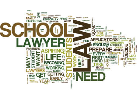 LAW SCHOOL KNOW HOW Text Background Word Cloud Concept